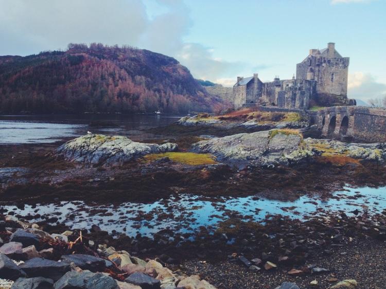 Captured by Ellen Burne on an iPhone 5 at Eilean Donan Castle, Scotland